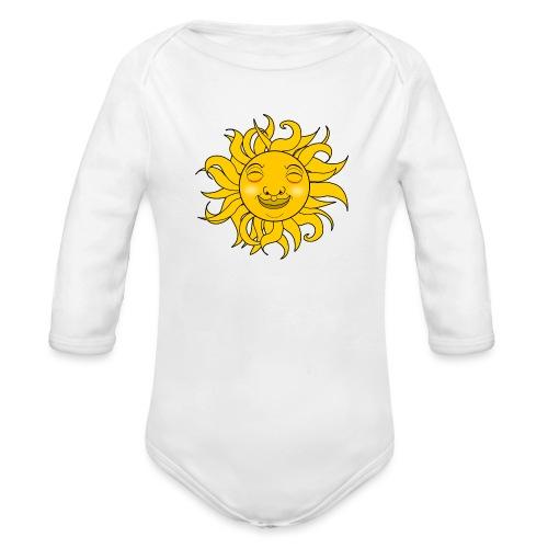 Sol - Body orgánico de manga larga para bebé