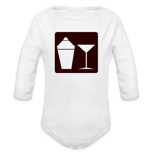 Alkohol - Baby Bio-Langarm-Body