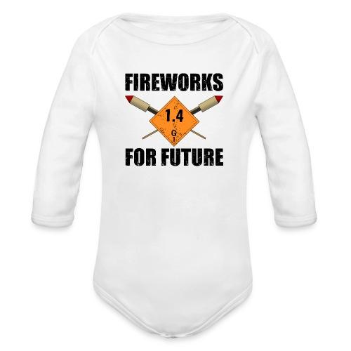 Fireworks for Future Pyro - Baby Bio-Langarm-Body