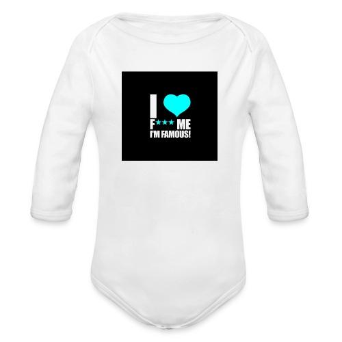 I Love FMIF Badge - Body Bébé bio manches longues