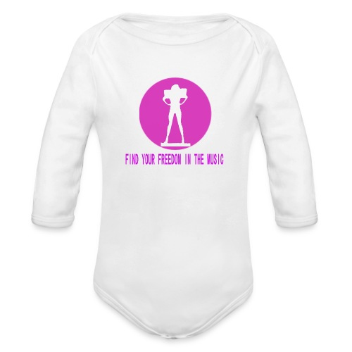DANCE IN THE DARK unisex - Body orgánico de manga larga para bebé