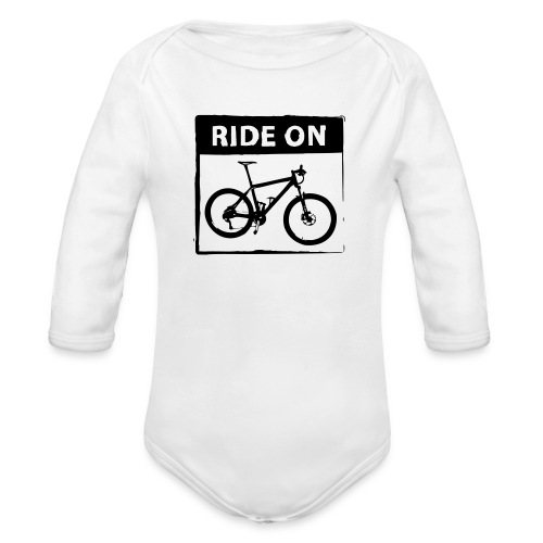 Ride On MTB 1 Color - Baby Bio-Langarm-Body