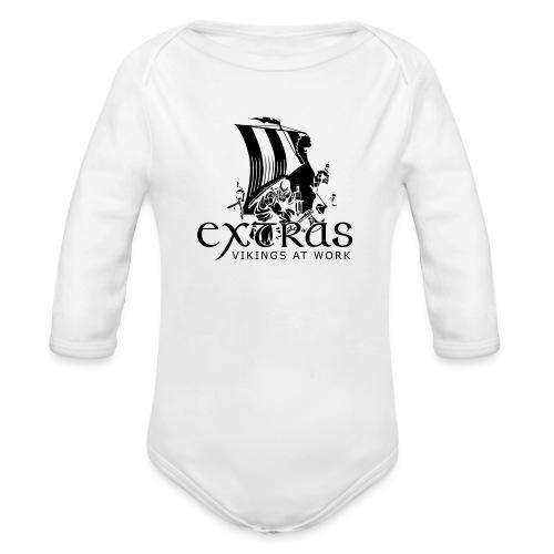 Legend_-_Vikings2 - Organic Longsleeve Baby Bodysuit
