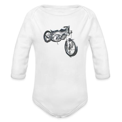 bike (Vio) - Organic Longsleeve Baby Bodysuit