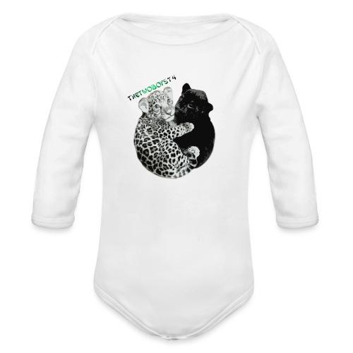 panther jaguar taske - Langærmet babybody, økologisk bomuld