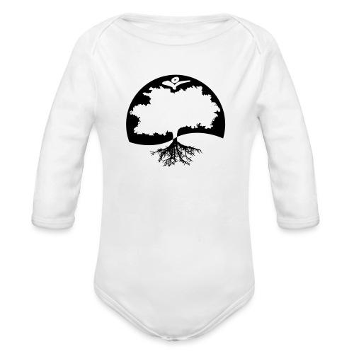 Naturals Logo Grafik - Baby Bio-Langarm-Body