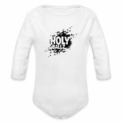 Holy Ballz - Organic Longsleeve Baby Bodysuit