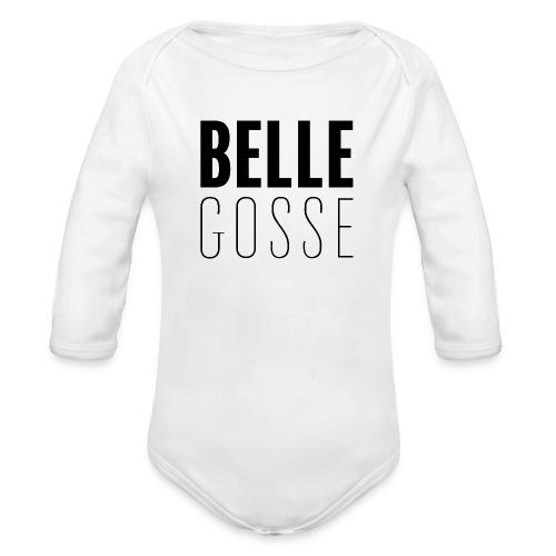 Belle Gosse - Body bébé bio manches longues