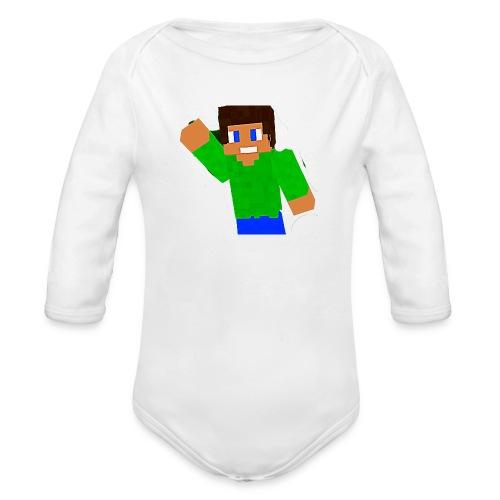 relapse special - Organic Longsleeve Baby Bodysuit