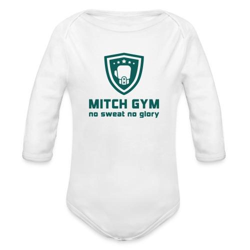 Logo_Mitch_Gym edit - Baby bio-rompertje met lange mouwen
