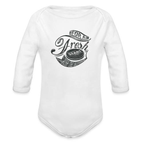 Fresh start - Baby Bio-Langarm-Body