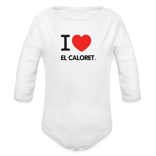 El Caloret - Body orgánico de manga larga para bebé