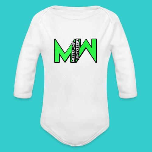 MeestalMip Shirt - Men - Baby bio-rompertje met lange mouwen