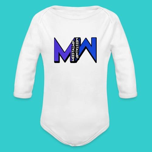 MeestalMip Hoodie - Men - Baby bio-rompertje met lange mouwen