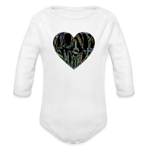 Love Is Sacrifice - Organic Longsleeve Baby Bodysuit