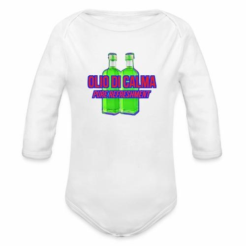 OLIO DI CALMA LINE - Body ecologico per neonato a manica lunga