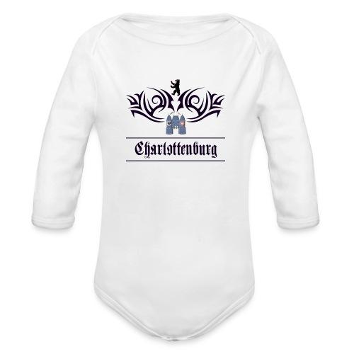 charlottenburg_tribal - Baby Bio-Langarm-Body