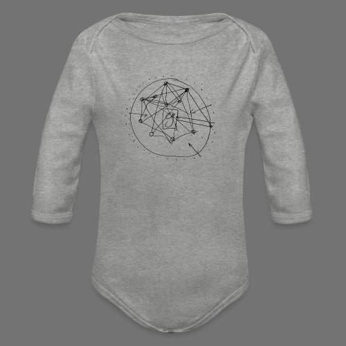 SEO strategia No.1 (musta) - Vauvan pitkähihainen luomu-body