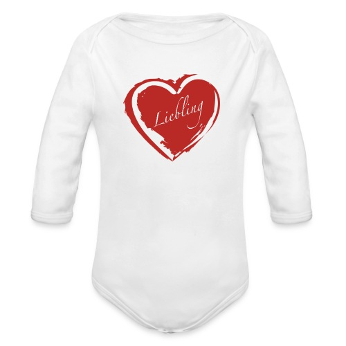 Liebling - Baby Bio-Langarm-Body
