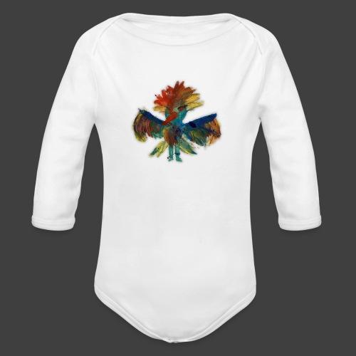Mayas bird - Organic Longsleeve Baby Bodysuit