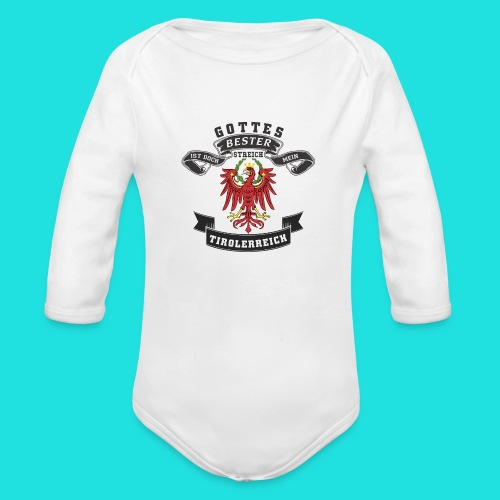 Tiroler - Baby Bio-Langarm-Body