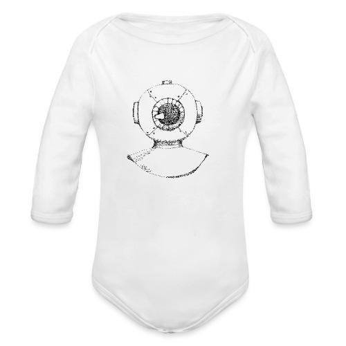 nautic eye - Baby bio-rompertje met lange mouwen
