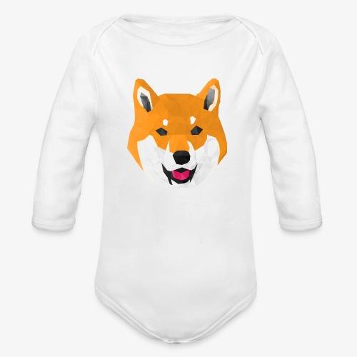 Shiba Dog - Body Bébé bio manches longues