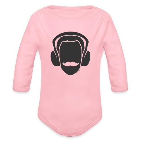 Moustachu Song (H) - Body Bébé bio manches longues