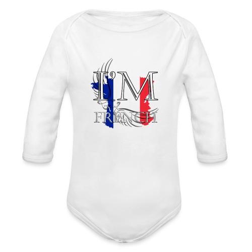 I am French - Body ecologico per neonato a manica lunga