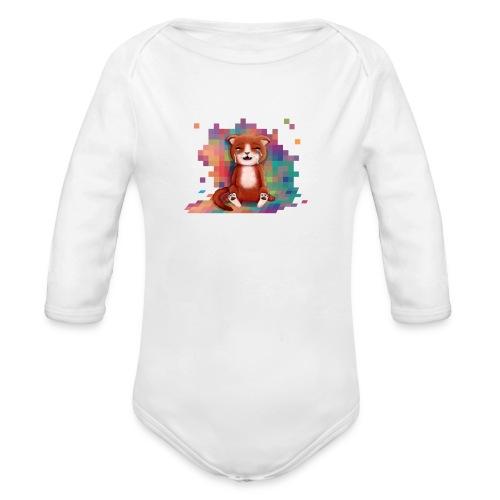Pixel's Make Me Cry - Organic Longsleeve Baby Bodysuit