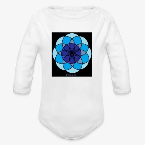 MANTRA DE LA TRANQUILIDAD - Body orgánico de manga larga para bebé