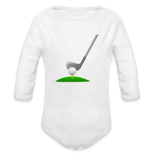 Golf Ball PNG - Body orgánico de manga larga para bebé