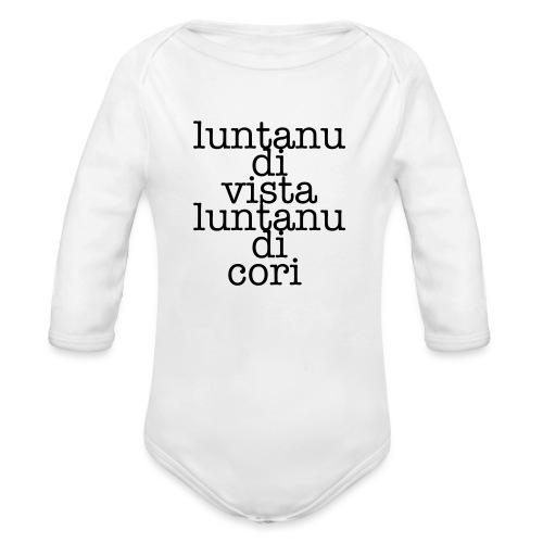 P3 - Body ecologico per neonato a manica lunga
