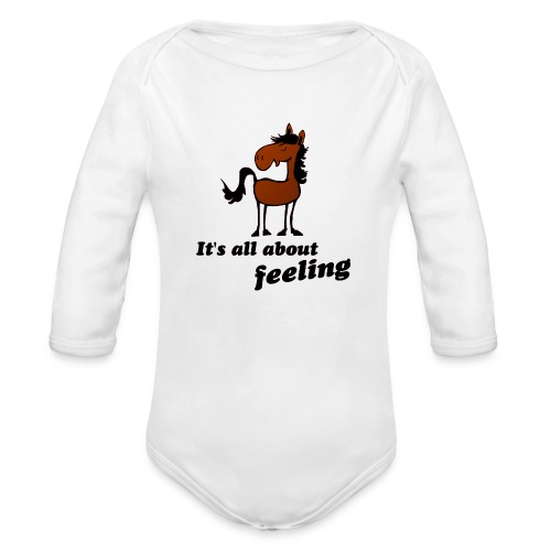 its all about feeling - Baby Bio-Langarm-Body