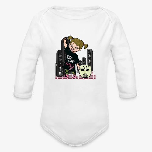 baby girl angerfist - Body Bébé bio manches longues