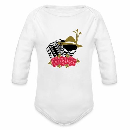 Rock Harmonika - Baby Bio-Langarm-Body