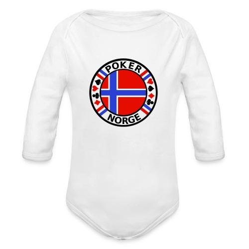 PoKeR NoRGe - Organic Longsleeve Baby Bodysuit