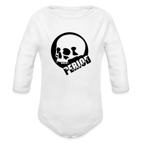 Period - Organic Longsleeve Baby Bodysuit