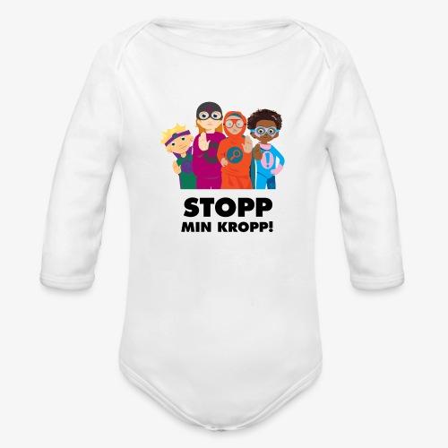 Stopp min kropp! - Ekologisk långärmad babybody