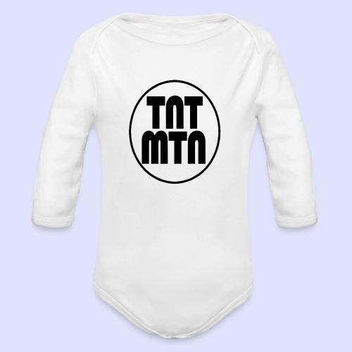 tntmtnlogo - Vauvan pitkähihainen luomu-body