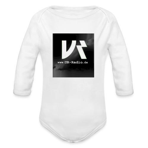 logo spreadshirt - Baby Bio-Langarm-Body