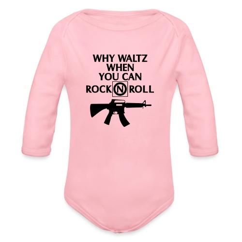 lost boys why waltz - Organic Longsleeve Baby Bodysuit