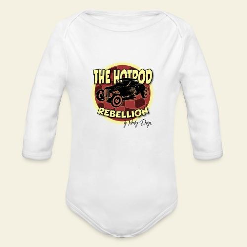 hotrod rebellion - Langærmet babybody, økologisk bomuld