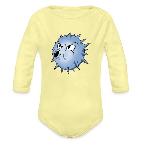 BLOWFISH! - Langærmet babybody, økologisk bomuld