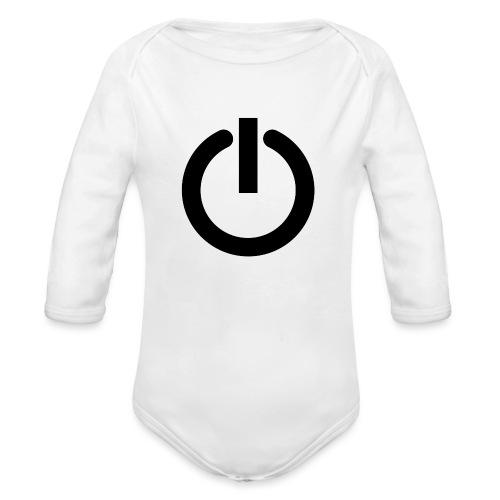 Camiseta GEEK mujer - Arreglo todo reiniciando - Body orgánico de manga larga para bebé