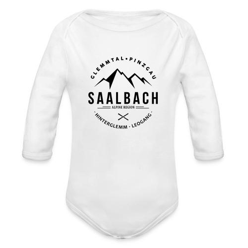 Saalbach Mountain Classic - Baby bio-rompertje met lange mouwen