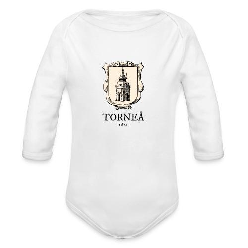 Torneå 1621 - Vauvan pitkähihainen luomu-body