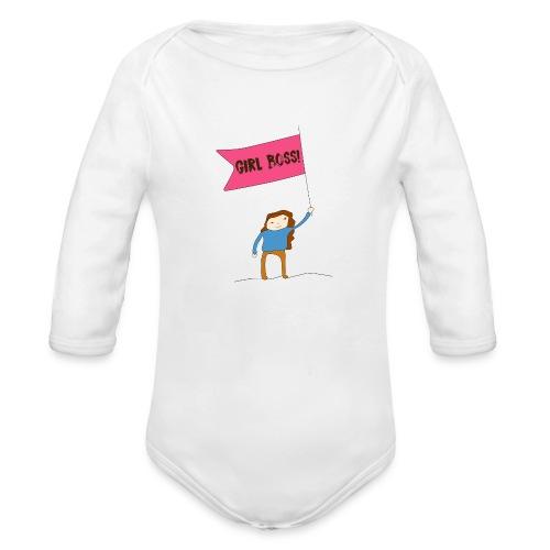 Gurl boss - Body orgánico de manga larga para bebé