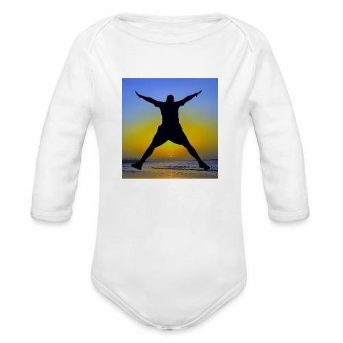 Sunset Beach 3 - Baby Bio-Langarm-Body