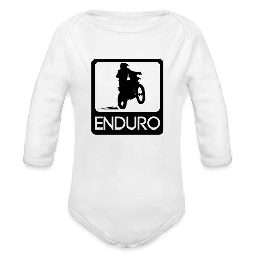 Enduro Rider - Baby Bio-Langarm-Body